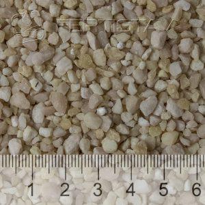 bílé až bělošedé nebo červené granule (1 – 5 mm)